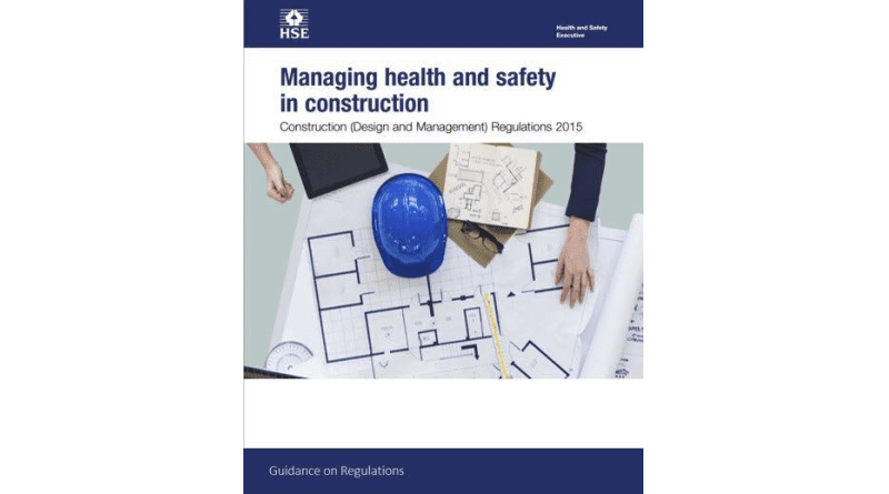 You, Small Building Works and the CDM Regulations, 2015.